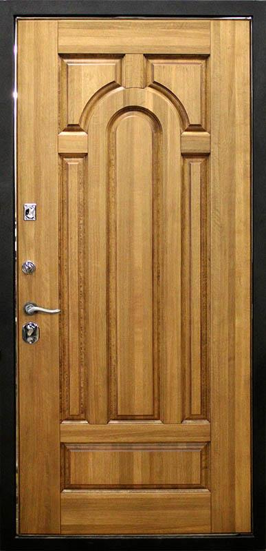 металлические двери из дуба от производителя