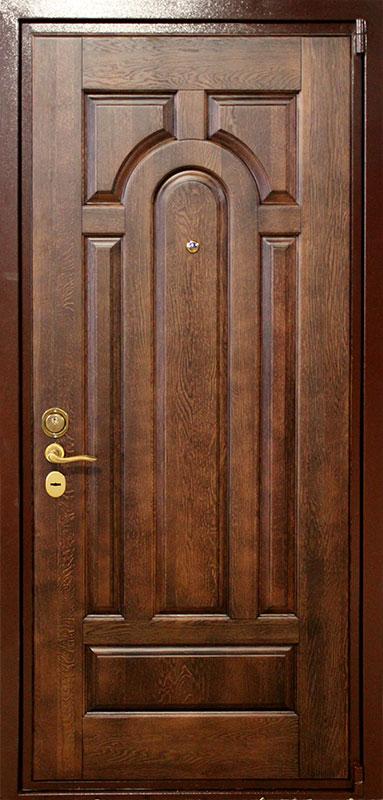 элитная металлическая дверь массив дуба от производителя