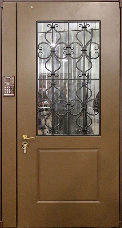 общие стальные двери