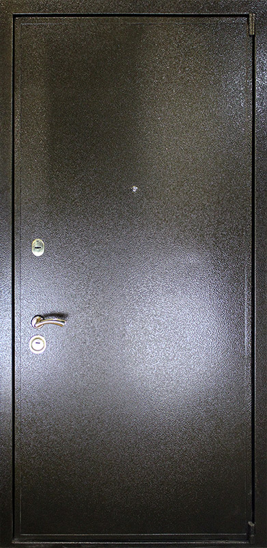 металлические двери полимерный окрас
