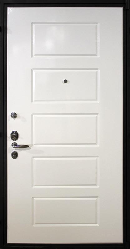 входная стальная дверь белая внутри