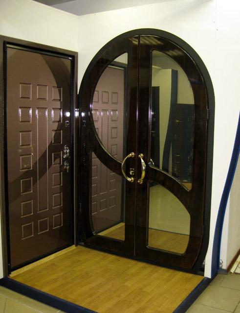 цена нестандартной входной металлической двери