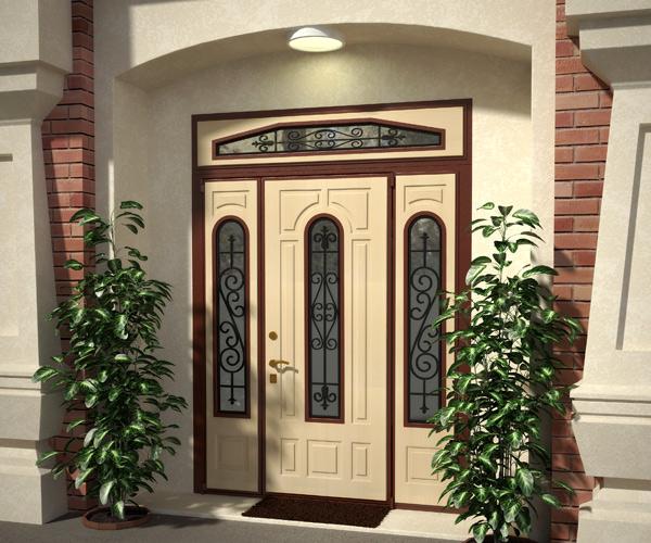 Нестандартные стальные двери НЕМАН