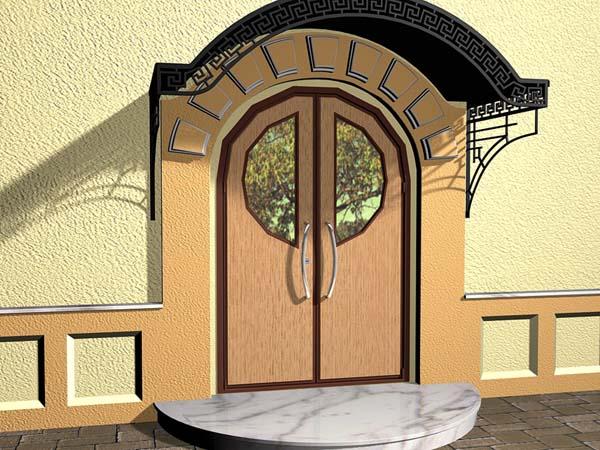 металлическая дверь нестандартные