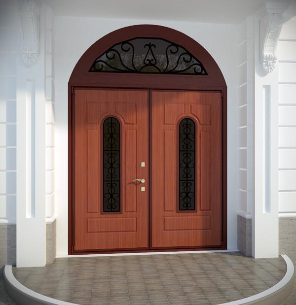 двери нестандартные входные в