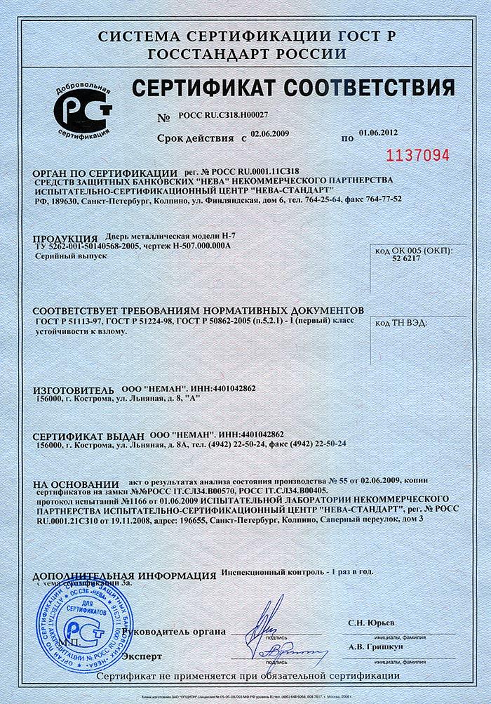 взломостойкие сертифицированные стальные двери