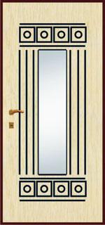 Зеркальная панель - Ранголи 5