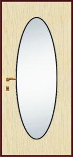 Зеркальная панель - Овале