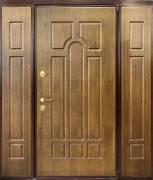Дверь металлическая <strong>Н-102</strong><br>Панель: <strong>Корабельная фанера Дуб античный</strong>
