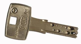 ключ цилиндра DOM Saturn